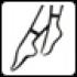Носочки с прозрачным мыском