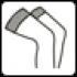 C резинкой на силиконовой основе