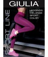 GIULIA Leggings Melange Sport Color