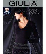 GIULIA Maglia Lurex Scollo V