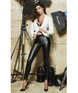 Jadea Eco-leather Leggings Art 4877
