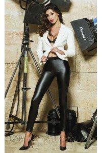 Jadea Eco-leather Leggings Art 4877
