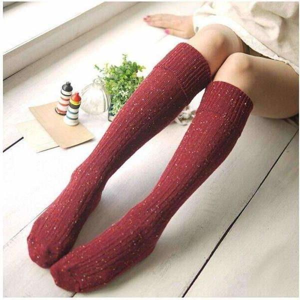 гетры на женских ножках